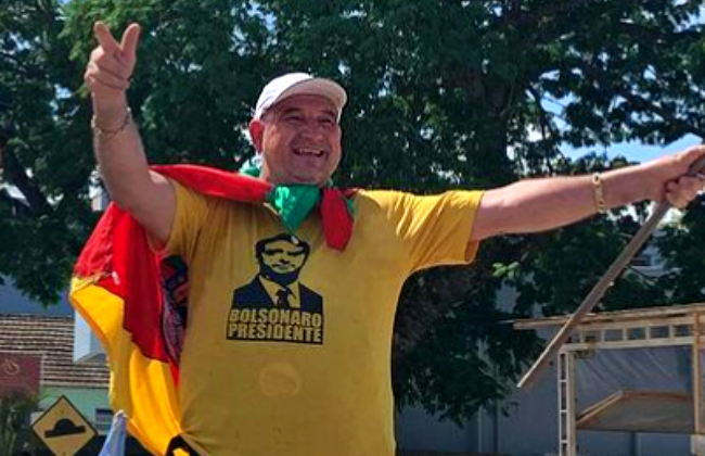 Prefeito bolsonarista preso mil aeroporto de Congonhas manifestações 7 setembro