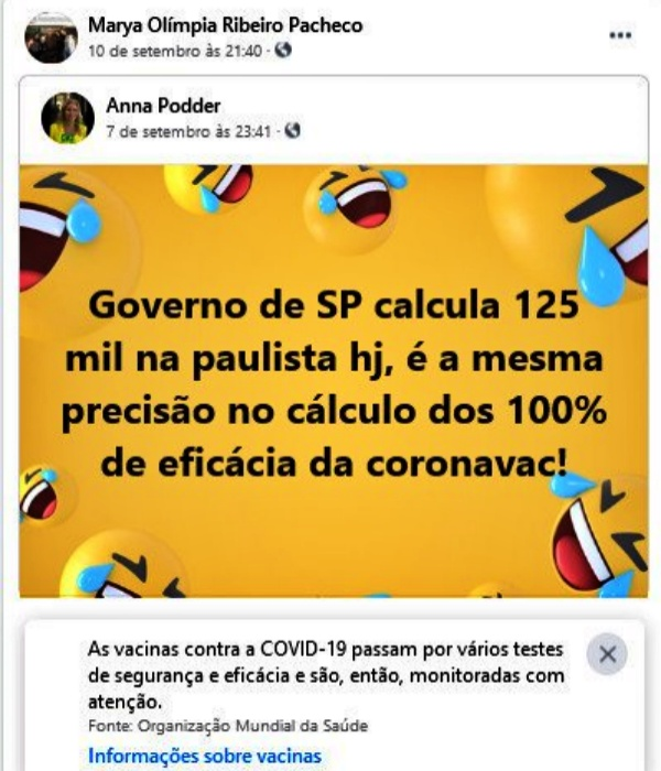 Promotora Marya Olímpia Ribeiro Pacheco publicou mensagens nazistas antivacina investigada CNMP
