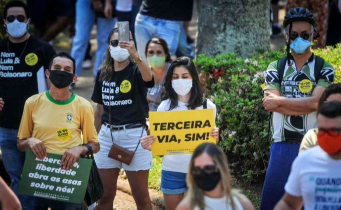 Protesto esvaziado 3ª via mostra esquerda Bolsonaro donos da rua