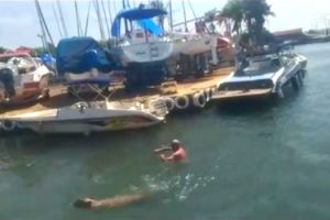 video-marinheiro-atacado-capivara-lago-brasilia
