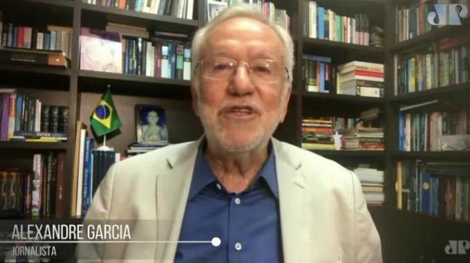 Alexandre Garcia anos não tomou vacina contra Covid idoso