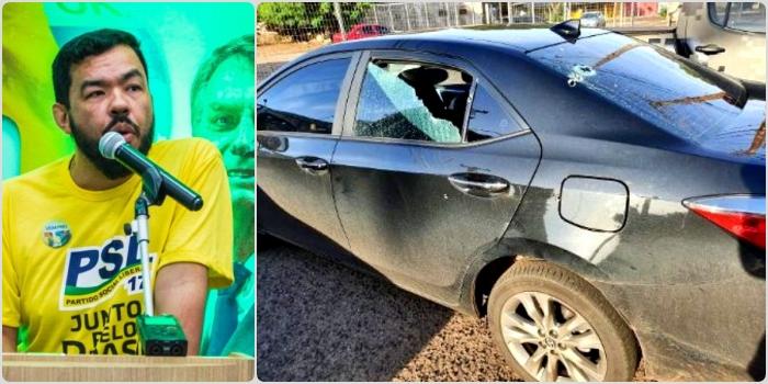 Deputado bolsonarista denunciado por forjar próprio atentado Mato Grosso do Sul